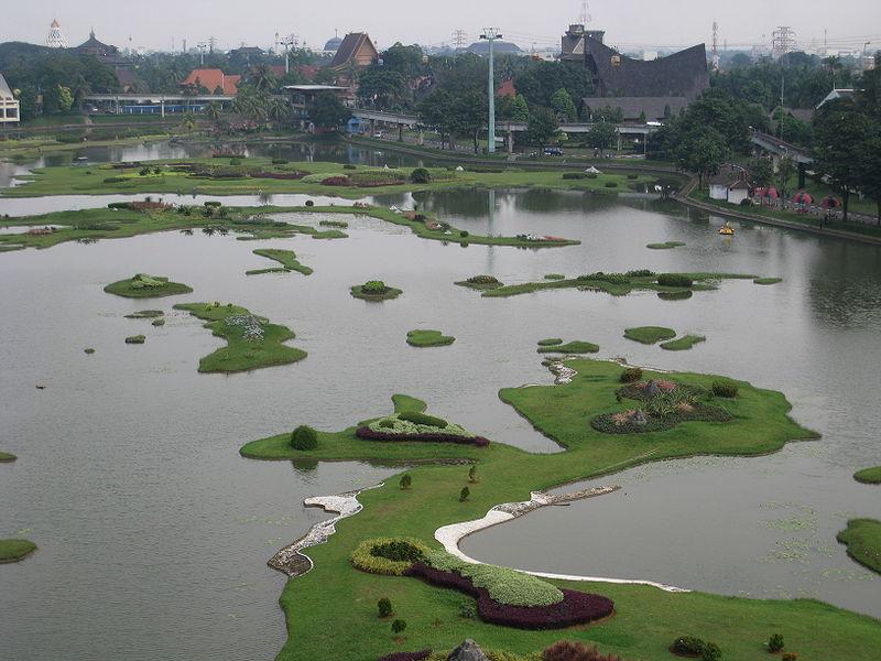 Objek Wisata Miniatur Indonesia